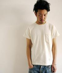 ANACHRONORM Clothing Slab Poket S/S T-shirt OFF WHITE