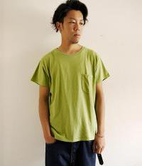 ANACHRONORM Pocket T-shirts LtGREEN