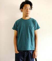 ANACHRONORM Pocket T-shirts BLUE