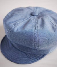 NEW YORK HAT #6213 CHAMBRAY SPITFIRE Blue