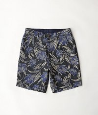 VOO SPECIAL FLORAL SHORTS [NAVY]