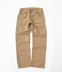 ANACHRONORM Standard W Stitch Compact Chino 6P Pants [BEIGE]