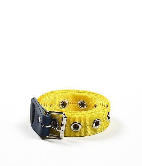 NECESSARY or UNNECESSARY BELT NYLON [YELLOW]