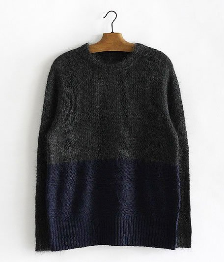 VOO 2TONE KNIT [CHARCOAL×NAVY]