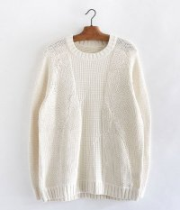VOO GOOD COMBO KNIT [NATURAL]