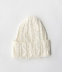 HIGHLAND2000 BOB CAP COTTON CABLE [OFF WHITE]