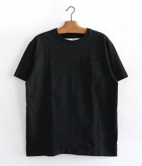 NECESSARY or UNNECESSARY POCKET TEE  [BLACK]