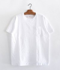 NECESSARY or UNNECESSARY POCKET TEE [WHITE]