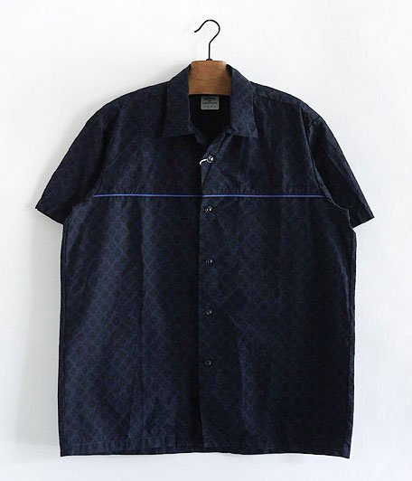 NECESSARY or UNNECESSARY LINED SHIRT COMON [NAVY]