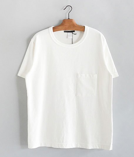 JIGSAW SUPIMA COTTON SLUB JERSEY S/S BIG T-SHIRT [OFF WHITE]