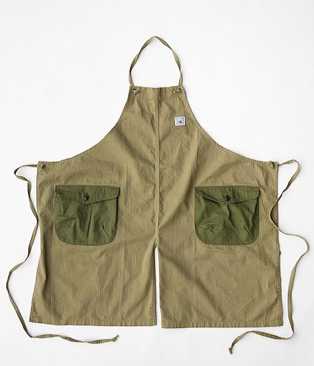 THE SUPERIOR LABOR BBW Bib Apron [khaki]