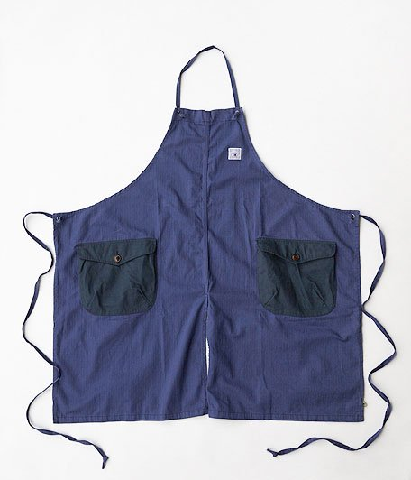 THE SUPERIOR LABOR BBW Bib Apron [blue]