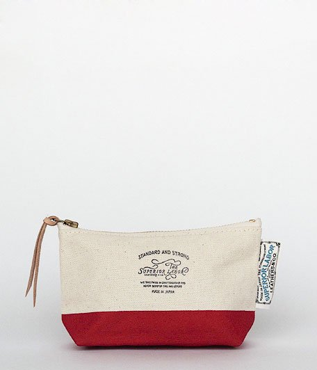 THE SUPERIOR LABOR Engineer Pouch #02 [red]