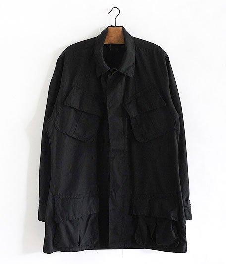 60's U.S.ARMY ジャングルファティーグジャケット [Overdyed Black]