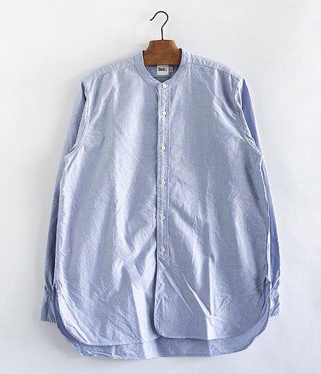KAPTAIN SUNSHINE Band Collar Shirts [BLUE]