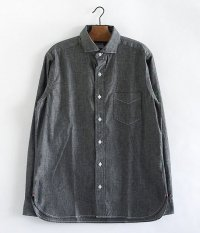 WORKERS Widespread Shirt [BLACK CHAMBRAY]