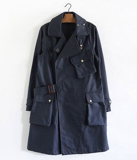 ANACHRONORM Ventile Cotton Trench Coat [NAVY]