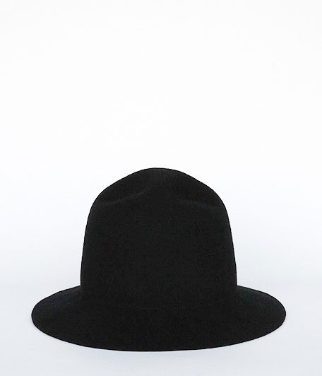 Chapeaugraphy RADICAL別注 Mountain Felt Hat [BLACK]