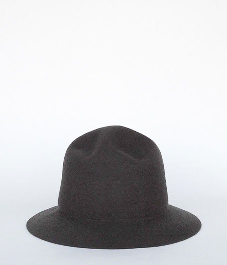 Chapeaugraphy RADICAL別注 Mountain Felt Hat [CHARCOAL]