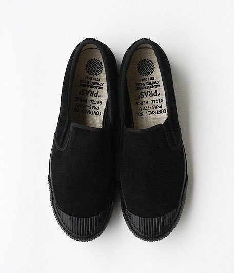 ANACHRONORM Shellcap Slip-On by PRAS [BLACK]