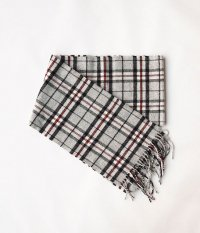 HIGHTLAND TWEED TARTAN SCARF [GRAY THOMPSON]