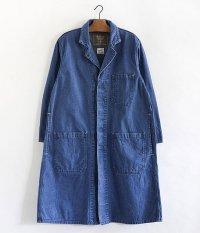 ANACHRONORM Nep Denim Engineer Coat [Lt INDIGO]