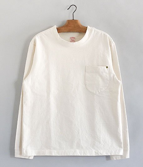 ANACHRONORM Standard Heavy Weight Pocket L/S T-shirt [IVORY]