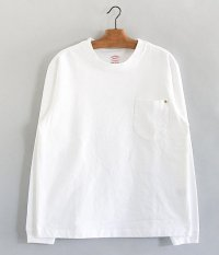 ANACHRONORM Standard Heavy Weight Pocket L/S T-shirt [WHITE]