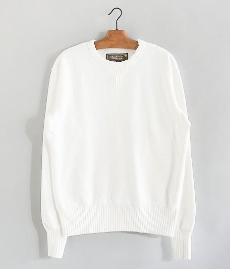ANACHRONORM Fleece Crew Neck Sweatshirt [WHITE]