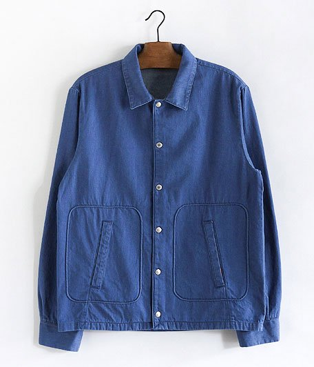 ANACHRONORM Pima Denim Swing Jacket [Lt.INDIGO]