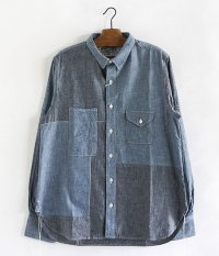 H.UNIT STORE LABEL Chambray Crazy Shirt [INDIGO / One Wash]