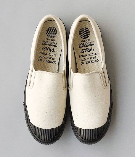 PRAS Shellcap Slip-on [KINARI / BLACK]