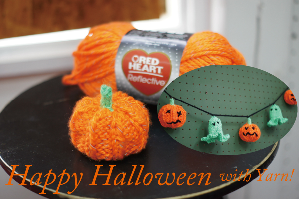 Happy Halloween with Yarn