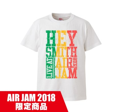 HEY-SMITH_AIR JAM 2018 T A_WHITE