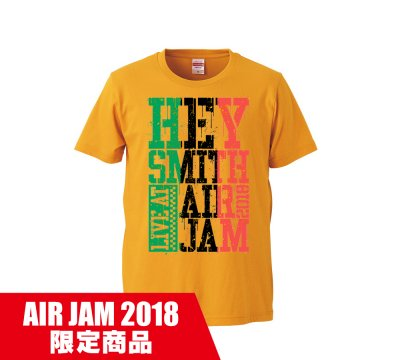 HEY-SMITH_AIR JAM 2018 T A_YELLOW