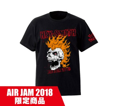 HEY-SMITH_AIR JAM 2018 T B_BLACK×RED