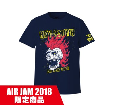 HEY-SMITH_AIR JAM 2018 T B_NAVY×YELLOW