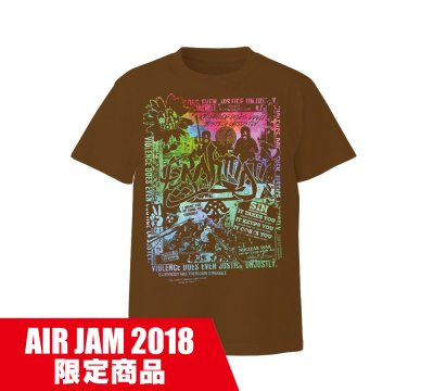 BRAHMAN_AIR JAM2018 T [B]_BROWN