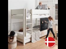 二段ベッド Manis-h / 白 / スタンダードH159
