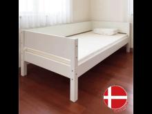 シングルベッド / Manis-h / 白 / 3方向ガード