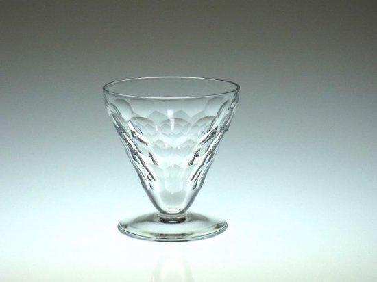 バカラ グラス ● うろこ 全面カット エカイユ 白 ワイン グラス ヴィンテージ Ecaille