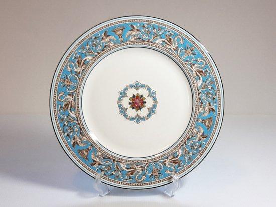 ウェッジウッド プレート■フロレンティーン ターコイズ ディナープレート 1枚 大皿 WEDGWOOD 1級