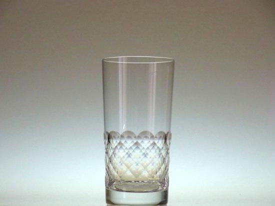 バカラ グラス ● エカイユ うろこ ハイボール タンブラー グラス クリスタル ヴィンテージ 14cm 未使用 Ecaille