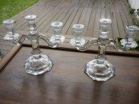 バカラ 燭台 照明 枝付き燭台 大型 ヴィンテージ ロウソク立て キャンドル立て クリスタル candelabras