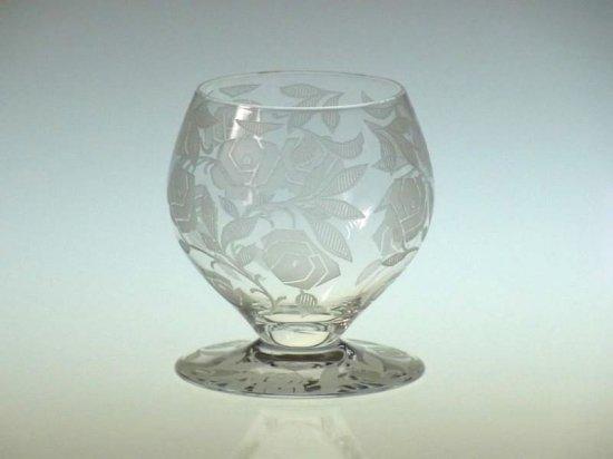 オールド バカラ グラス ● ジョルジュ シュバリエ ローズ フォントネー 白 ワイン グラス Fontenay Rose