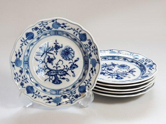 マイセン プレート■ブルーオニオン ランチプレート 6枚セット 皿 Meissen