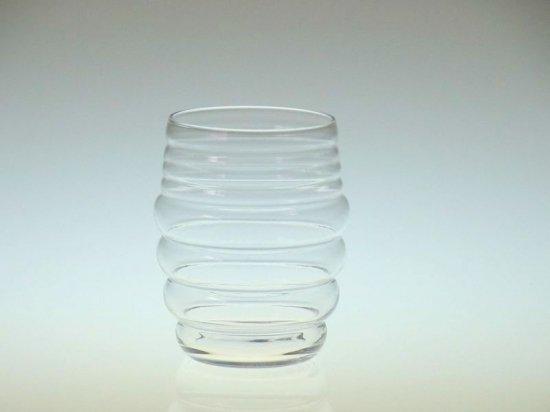 バカラ グラス ● タンブラー ハイボール 雲形 もこもこ ぽこぽこ 珍品 クリスタル 10cm