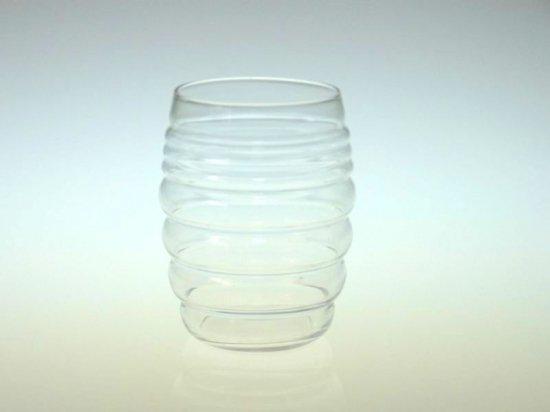 バカラ グラス ● タンブラー 雲形 もこもこ ぽこぽこ 珍品 クリスタル 8.5cm