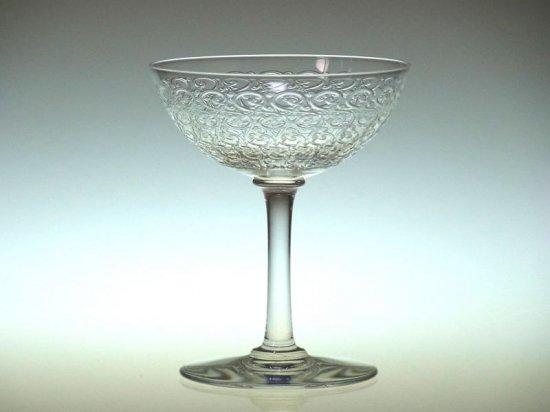 オールド バカラ グラス ● コンブール ローハン シャンパンクープ アンティーク ロングステム Combourg