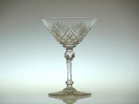 オールド バカラ グラス ● エピナル シャンパン クープ パイナップル EPINAL